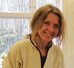 Anne i verkstedet portrett
